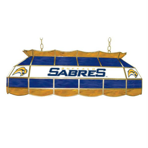 NHL Buffalo Sabres Stained Glass 40 inch Lighting Fixture