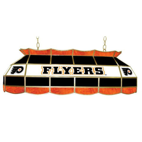 NHL Philadelphia Flyers Stained Glass 40 inch Lighting Fixtu