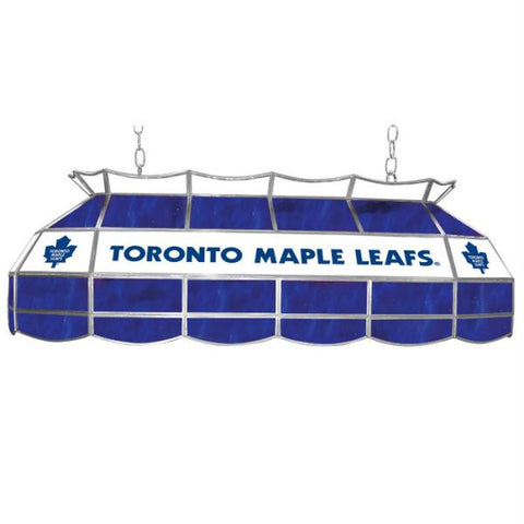 NHL Toronto Maple Leafs Stained Glass 40 inch Lighting Fixtu