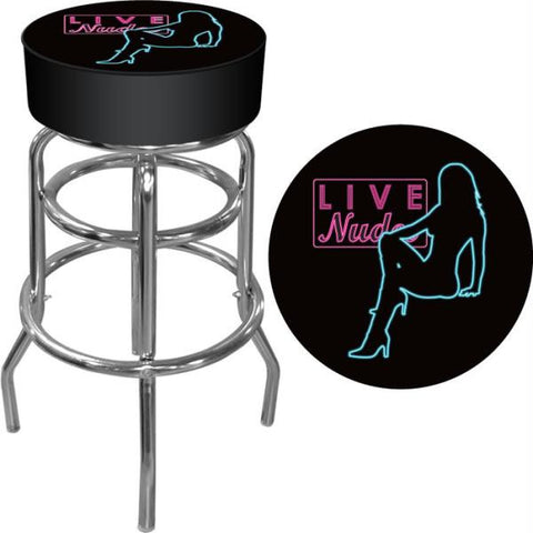 Shadow Babes - D Series - High Grade Padded Bar Stool