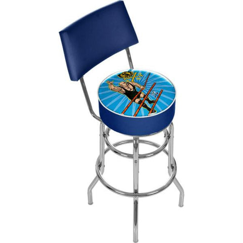 WWE Kids The Big Show Padded Bar Stool with Back