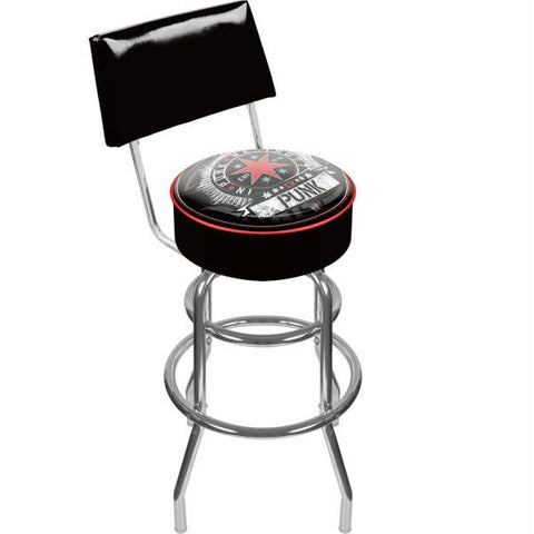 WWE CM Punk Padded Bar Stool with Back
