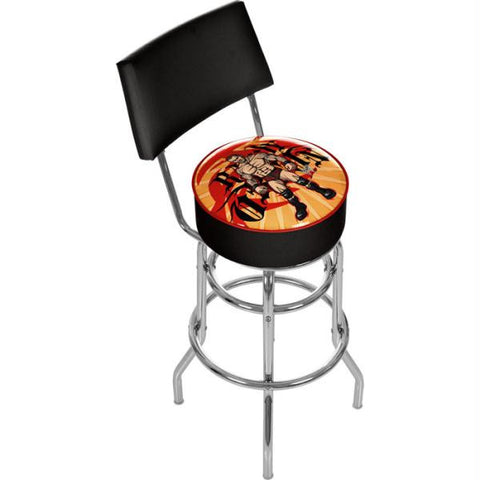 WWE Kids Randy Orton Padded Bar Stool with Back