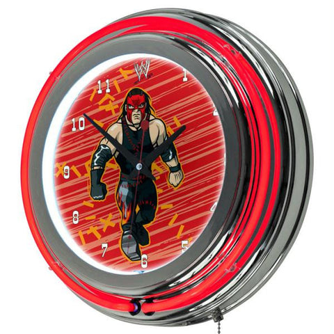 WWE Kids Kane Neon Clock - 14 inch Diameter