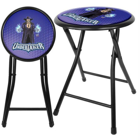 WWE Kids Undertaker 18 Inch Folding Stool - Black