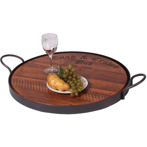 Cask And Crown Oversized Serving Tray