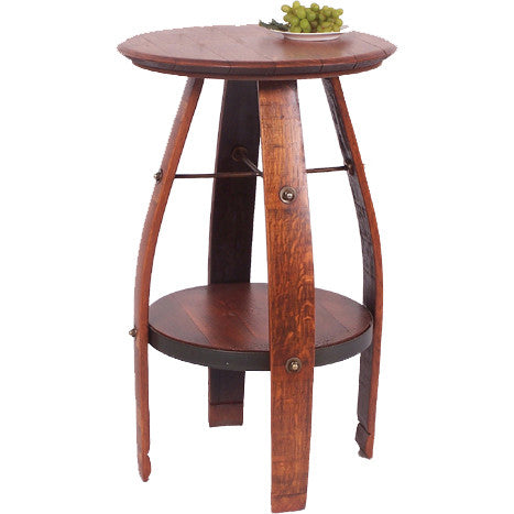 "35"" Bistro Table (Made from Wine Barrels)"