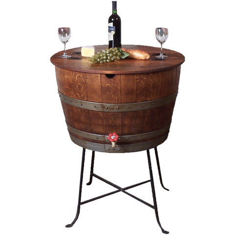 Bistro Barrel Cooler (Made from Wine Barrels)