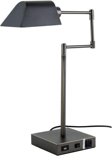 Brio 1 Light Table Lamp Bronze Finish Etriggerz Com