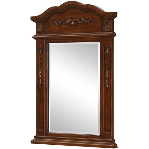 "Danville 24""x36"" Vanity Mirror, Brown"