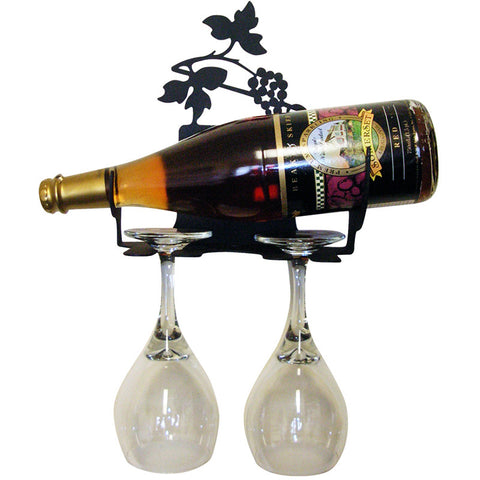 Grapevine Wall Mounted Wine Rack