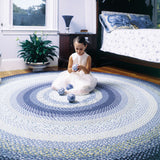 Wedgewood Braided Cotton Oval Rug - etriggerz.com