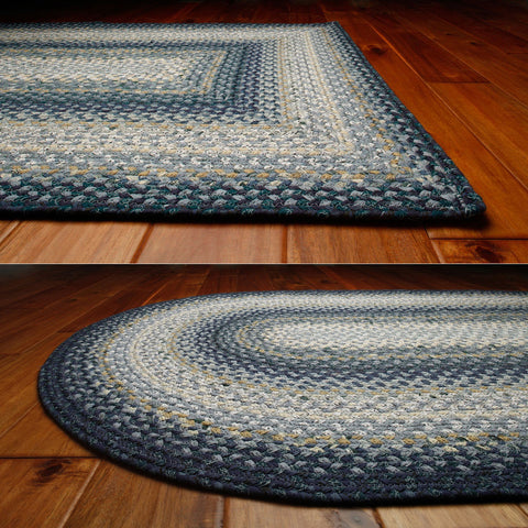 Wedgewood Braided Cotton Oval Rug