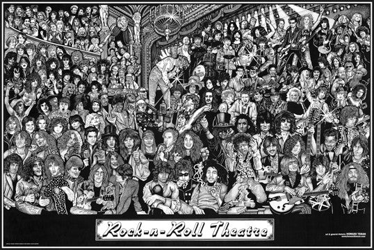 rock n roll theater poster