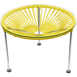 Zica Vinyl Cord Table, Chrome Frame - etriggerz.com