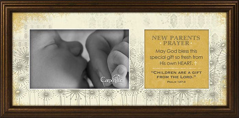 New Parent's Prayer Photo Frame