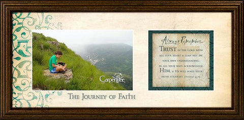 Journey Of Faith Photo Frame