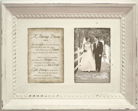A Marriage Blessing Photo Frame