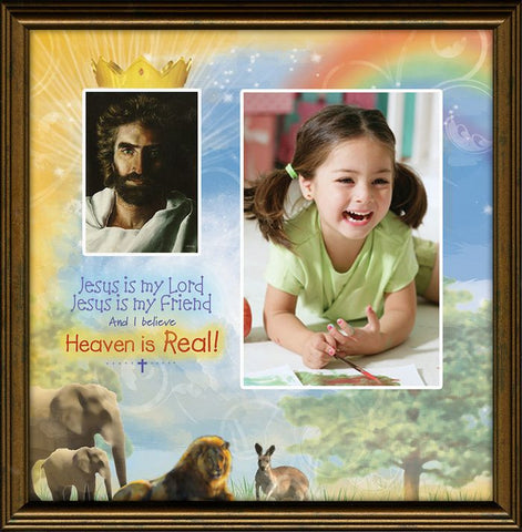 Heaven Is Real Photo Frame