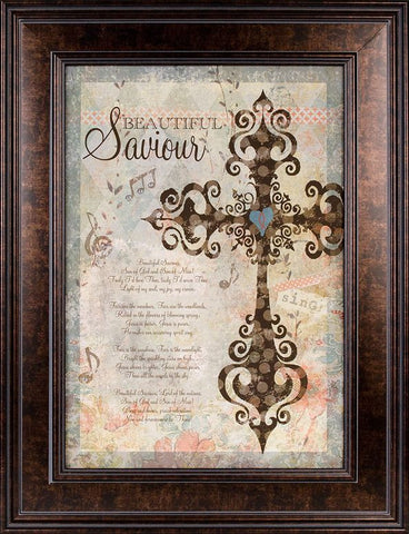 Beautiful Savior 20x26 Framed Art