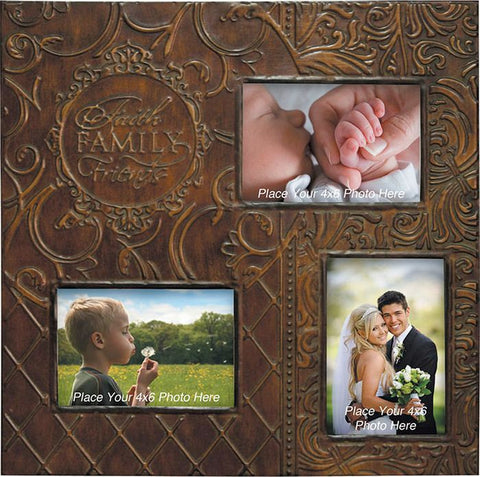 Faith Family Friends Photo Frame