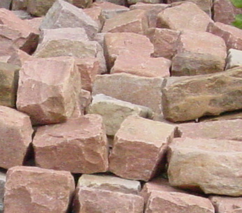 Antique Pink Cobblestones