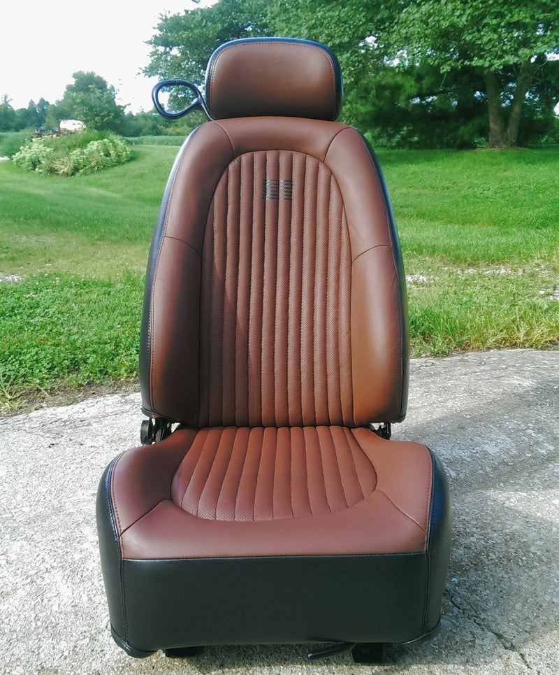 Turning a Ford Mustang's Leather Seats from Charcoal Grey to Cinnamon Brown