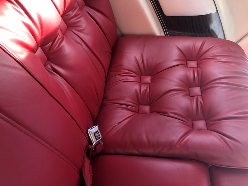 Team Witt Customs Changes the Color of a 1977 Cadillac Eldorado Interior Using ColorBond