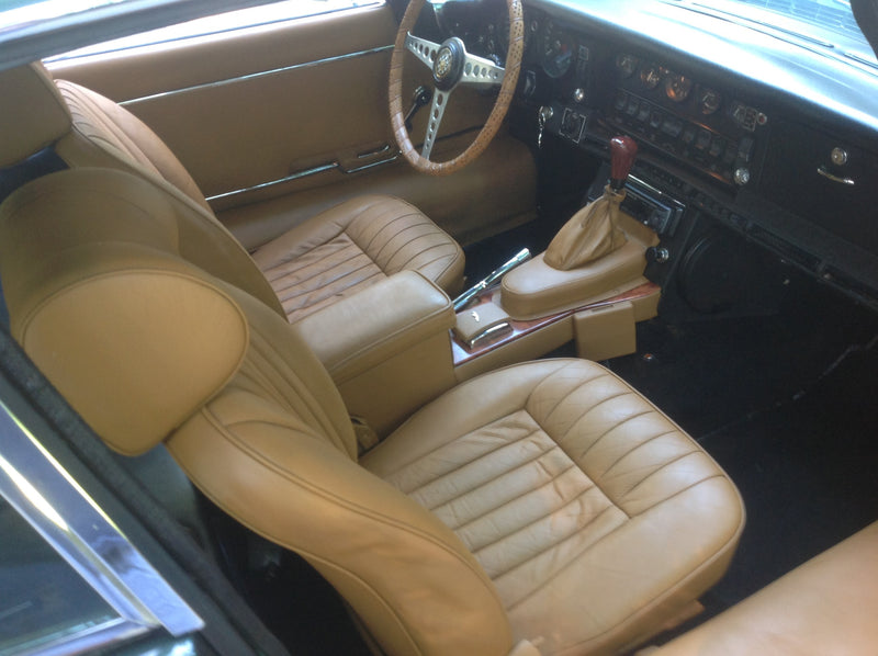 Jaguar Interior Paint Used to Restyle XKE