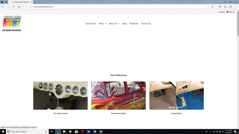 Car Restoration Paint - New ColorBond Website Makes it Easier to Choose the Products You Need