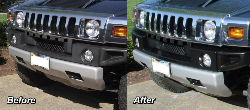 ColorBond Black Auto Trim Paint Dramatically Improves Appearance