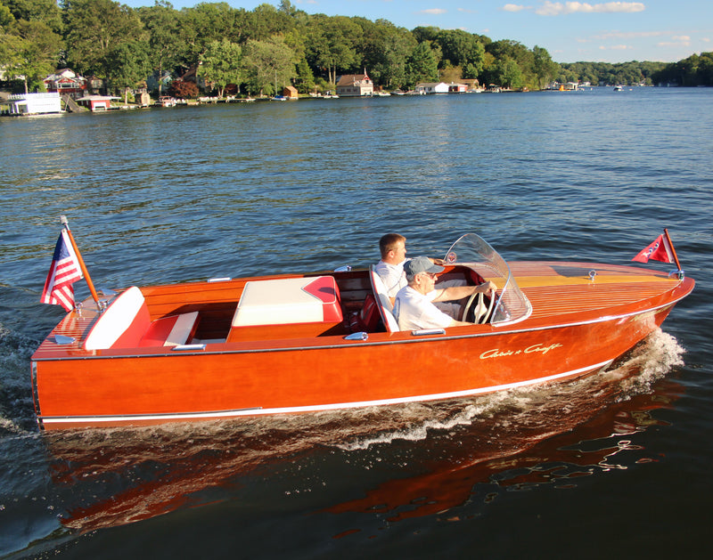1960 Chris Craft 17' Sportsman Restoration