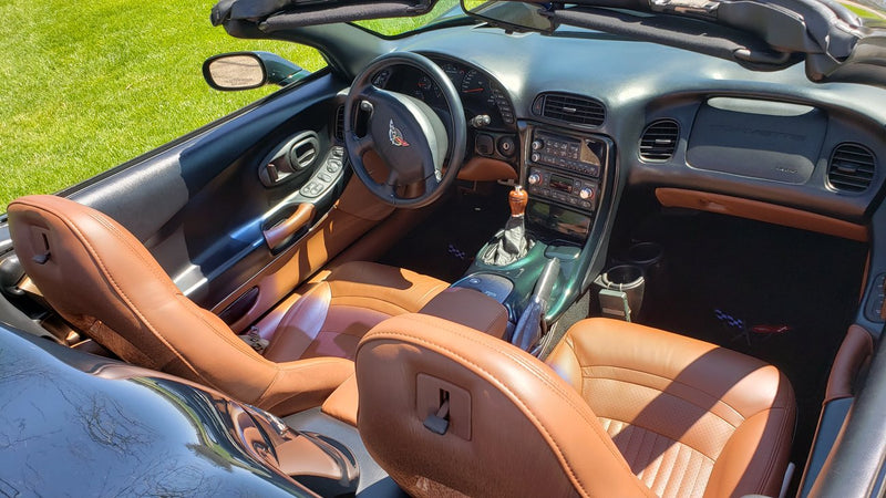 Using Corvette Interior Paint for a Color Update