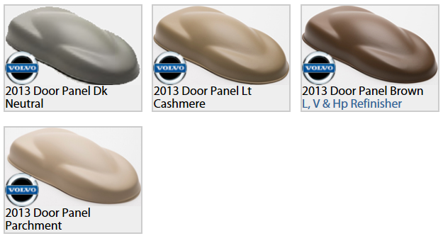 Volvo Interior Paint Colors Released