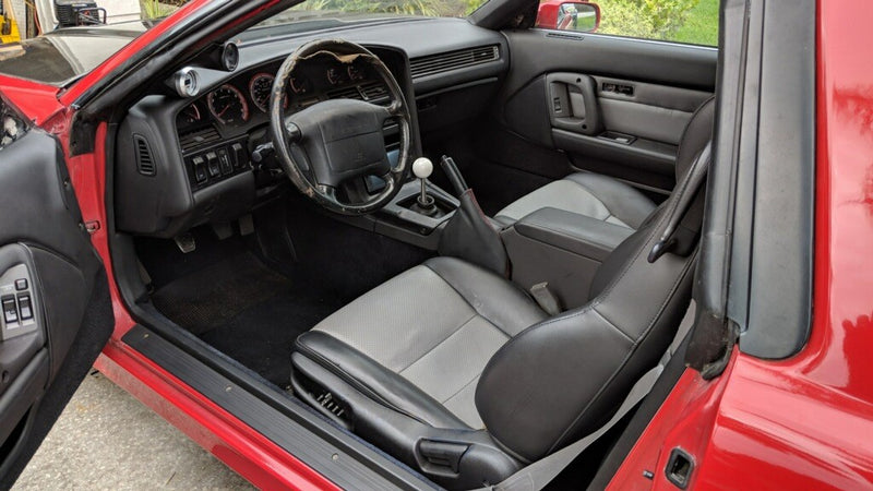 Using Upholstery Paint to Restore a Toyota Supra Interior