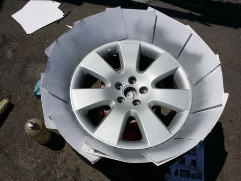Wheel Paint by ColorBond Provides an Economical Alternative