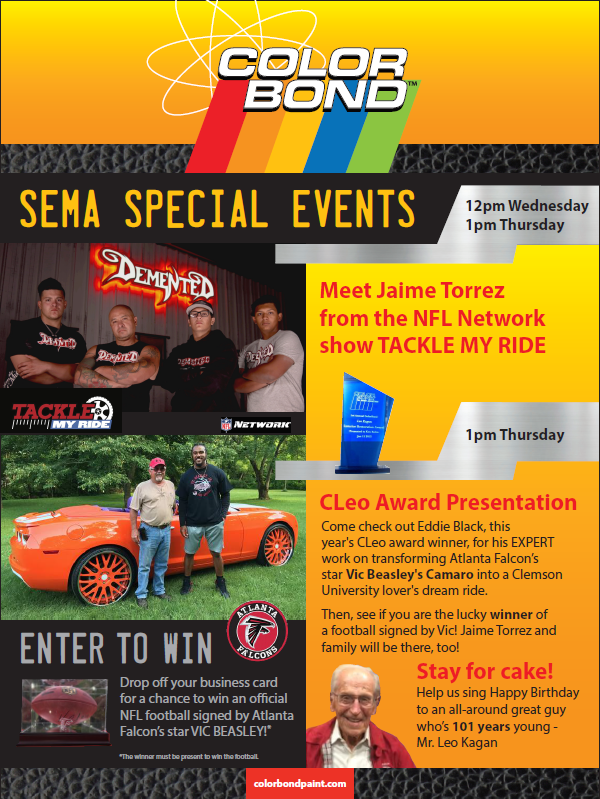 ColorBond SEMA Events