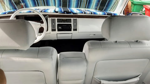 1993 Cadillac Fleetwood Interior Paint