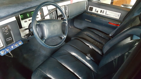 1993 Cadillac Fleetwood Interior