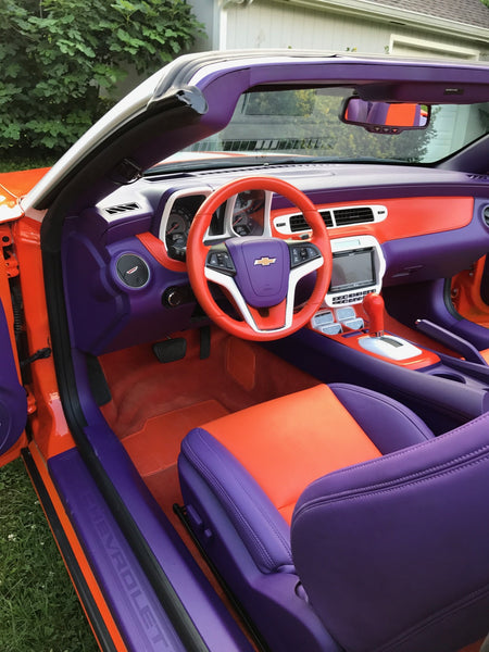 vic beasley painted his car clemson colors and it 39 s awesome colorbond blog. Black Bedroom Furniture Sets. Home Design Ideas