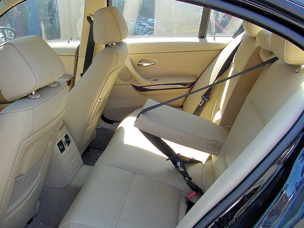 BMW Interior Before - Tan