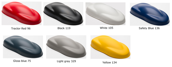 Industrial Coating Colors