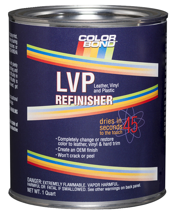 Leather, Vinyl & Hard Plastic Refinisher