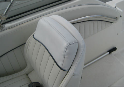 Sea Ray Boat >> Boat Upholstery Repair | Boat Seat Upholstery Paint | L, V & HP Refinisher | ColorBond ...