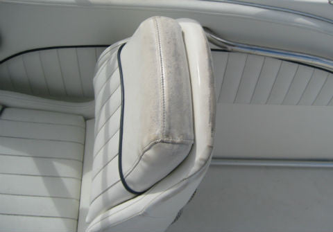 Boat Seat Before ColorBond