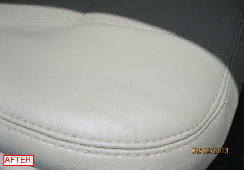 Leather Car Seat After ColorBond