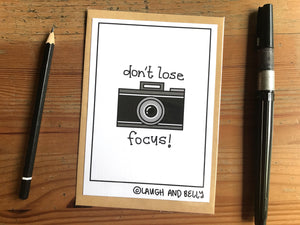 Don't Lose Focus (Camera)
