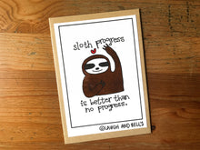 Load image into Gallery viewer, Sloth Progress