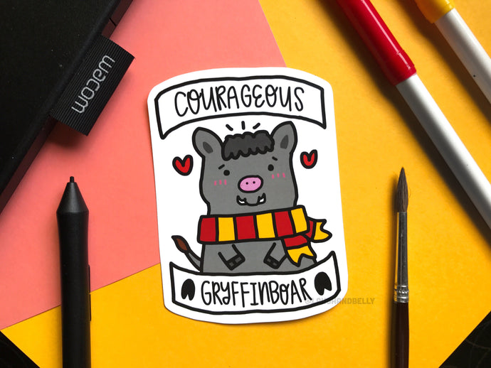 Courageous Gryffinboar