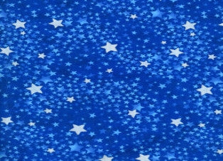 Blue Swirled Stars Cooling Neck Wrap